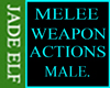 [JE] Melee Weapon Action