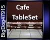 [BD]CafeTableSet