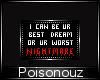 Your Nightmare =BADGE=