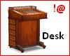 !@ Antique desk