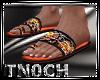 Sandals Camo Fire