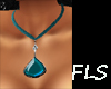 FLS Teardrop Aquamarine