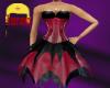 layered corset dress