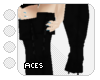 !As! pirate boots black