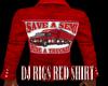 DJ RIGS RED SHIRT