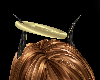 gold halo n horns