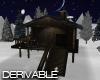 D. Snowy Cabin Derivable