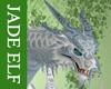 [JE] Silver Asian Dragon