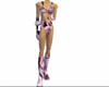 Plum Swirl Body Suit