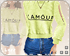 L. L'Amour Fit green