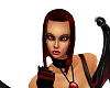(BR) Dark red hair