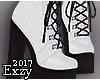 E! White Boots.