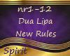 Dua Lipa~New Rules