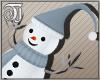 ^TJ^Knitted Snowman