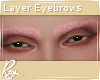 Pink Glitter Brows