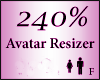 Avatar Resize Scaler 240