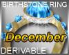 Birthstone Ring December