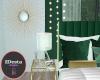 emerald suite white lamp