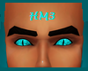Teal Fire Eyes