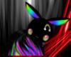 ~N~ Black Rainbow Bunny