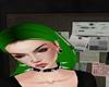 Hair Green Alien
