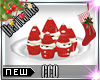 [CCQ]Santa Cupcakes