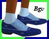 DkBlue Gucci Dress Shoes
