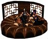 Bronze Round Couch