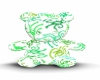 [KC]Green Swirl Teddy