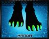 .M. Xavi Paw Feet F
