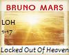 Bruno Mars Locked Heaven