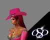 *OSD*Pink Suede hat