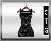 CTG BLACK LACE NET DRESS