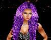 long shiny purple hair