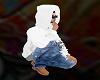 Street Hoodie White