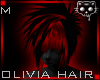 Black Red hair 46a Ⓚ