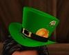 St patrick green hat