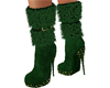 Royale Emerald Fur Boot