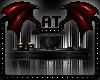 -A- Dark Skull SideTable