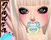 pacifier blue animated