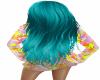 Blue Hair Long +