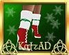 AD! Santa Baby Fur Boots