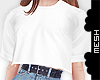 ! f' COL T-Shirt Crop