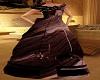 brown long dresses