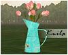 |K Vintage Flower Pot