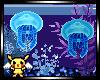 Aquarium jar sticker