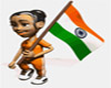 Indian Flag Sticker