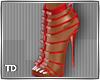 Siesta Red Heels