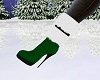 Holiday Boots ~Green