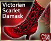 Victorian Boot Red